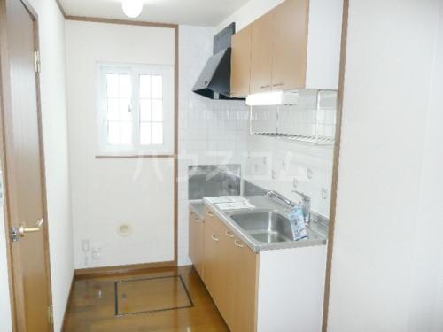 グレイスⅡ 01030号室のキッチン