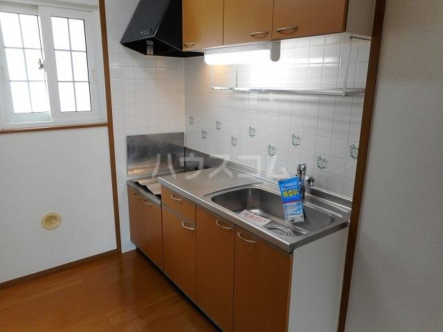 グレイスⅡ 02020号室のキッチン