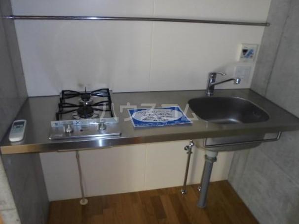 SOLATIO 202号室のキッチン