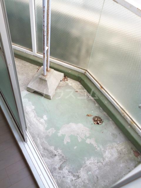 パークハイツ 208号室のバルコニー