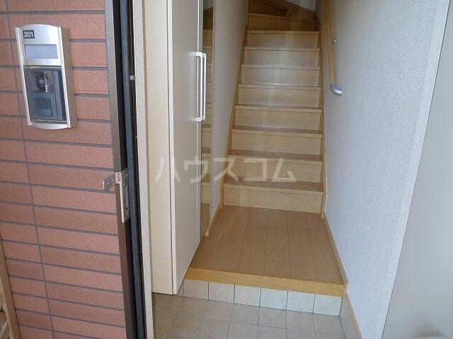 クレアール 02010号室の玄関