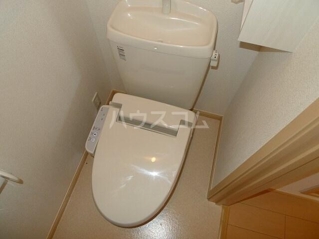 クレアール 02010号室のトイレ