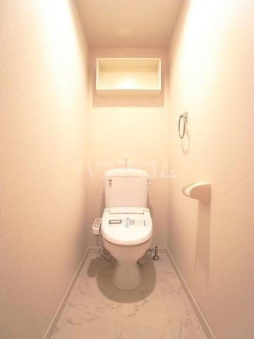 リブリ・アーク 306号室のトイレ