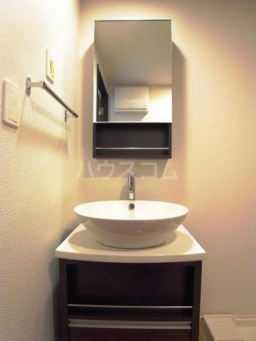 リブリ・アーク 306号室の洗面所