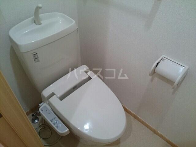 サリュー Ⅱ 01020号室のトイレ