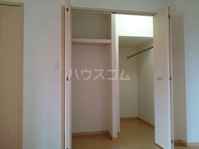 サリュー Ⅱ 01020号室の収納