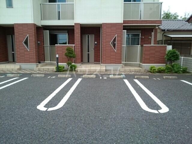 サリュー Ⅱ 01020号室の駐車場
