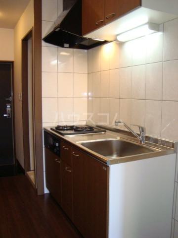 クリアーメゾン・J.BS 102号室のキッチン