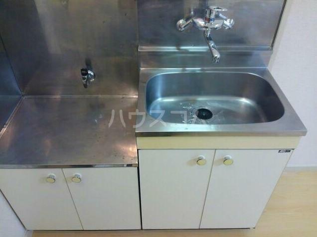 リイチ氷川台Ⅱ 105号室のキッチン