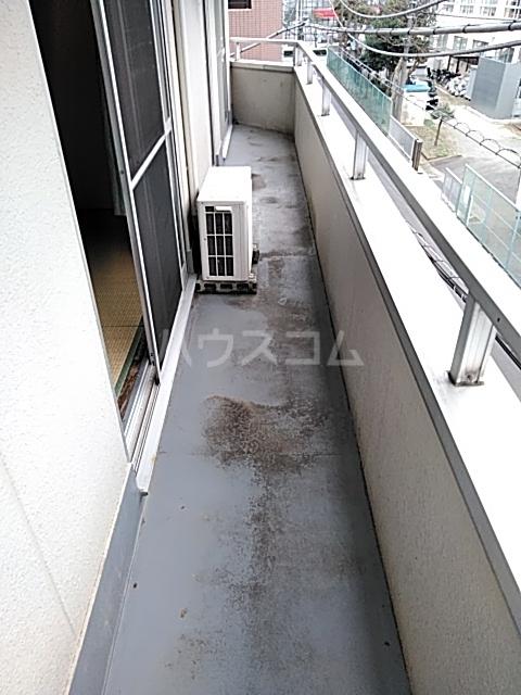 ドミール渡辺 301号室のバルコニー