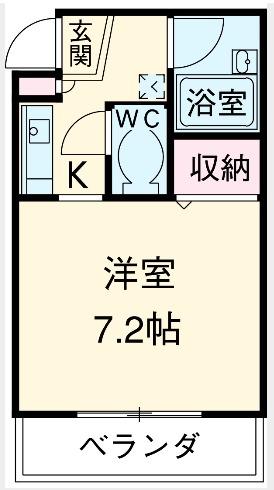 ヨシカイビル・203号室の間取り