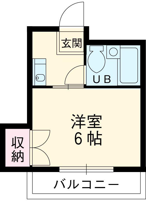 フジマツ第5ビル・303号室の間取り