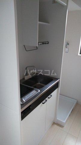 サークルハウス浮間壱番館 201号室のキッチン