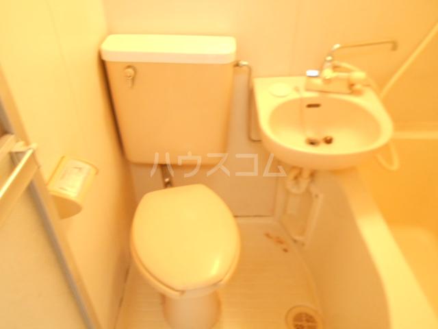 グリーンピア光 105号室のトイレ