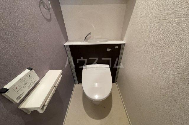 クレストコート 02020号室のトイレ