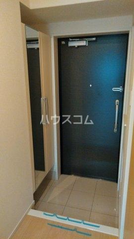 プライムヒルズ楚辺 1203号室の玄関