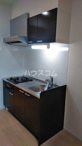 プライムヒルズ楚辺 1203号室のキッチン