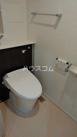 プライムヒルズ楚辺 1203号室のトイレ