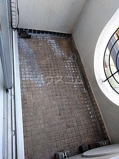 ニューシャトレーマンション 402号室のバルコニー