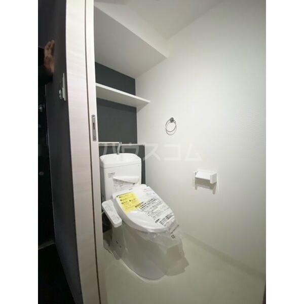 S-RESIDENCE葵II 806号室のトイレ