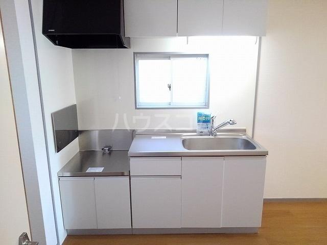 プレシャスコートA 02010号室のキッチン