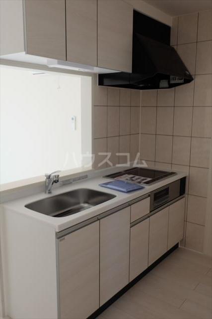 IXIA(イクシア) 207号室のキッチン