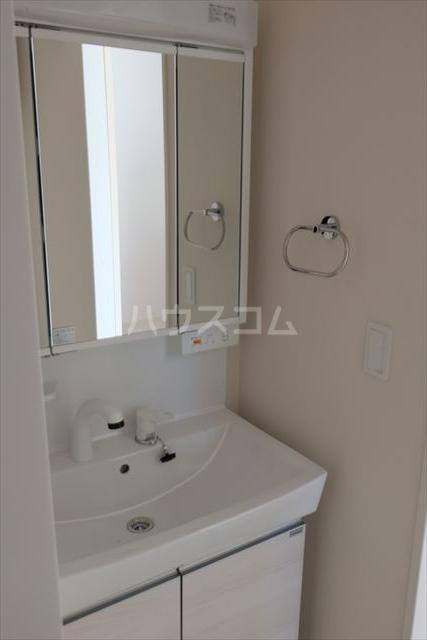IXIA(イクシア) 207号室の洗面所