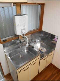コーポツカサ 102号室のキッチン