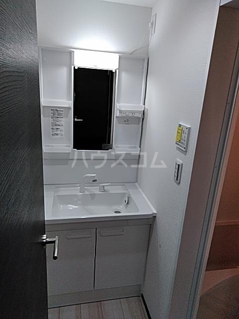 グランディール 203号室の洗面所