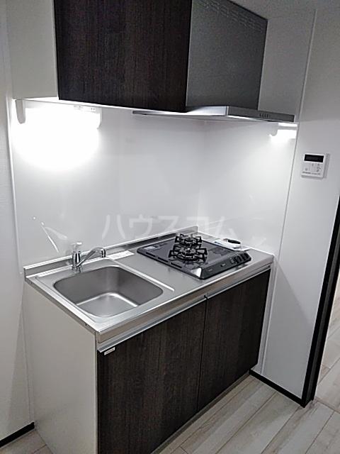 グランディール 204号室のキッチン