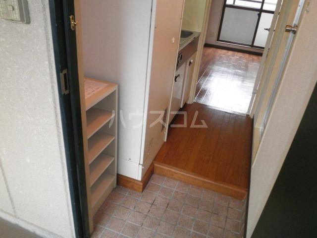 かんまつ728ハイツ 502号室の玄関