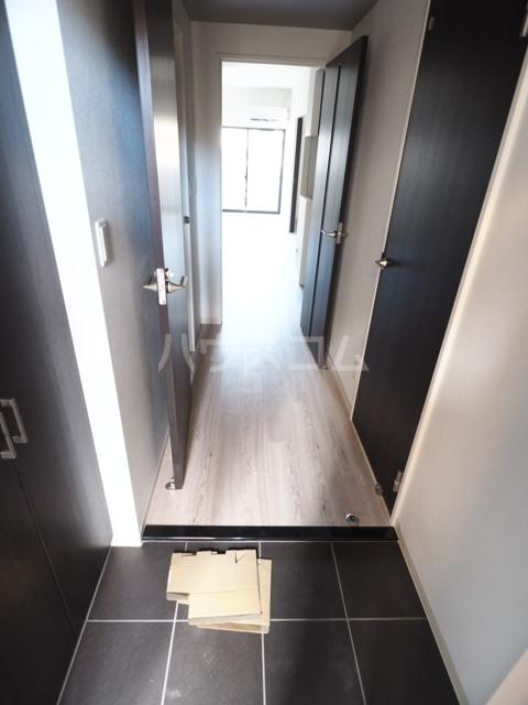 GRANDUKE大曽根fresa 602号室の玄関