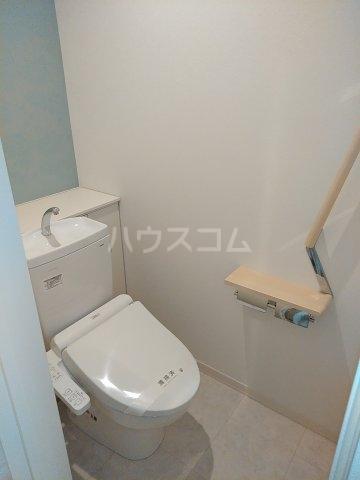 ベレオナカムラヤ 102号室のトイレ