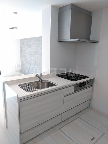 ベレオナカムラヤ 102号室のキッチン