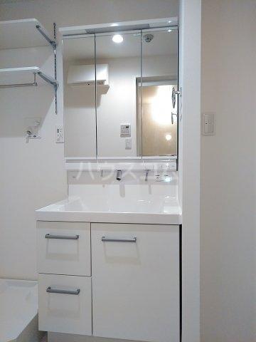 ベレオナカムラヤ 102号室の洗面所
