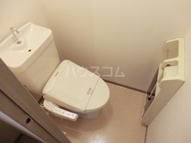 セジュールソフィアⅠ 205号室のトイレ