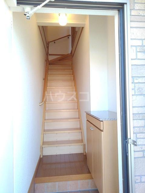 プリムローズK・Ⅱ 02020号室の玄関