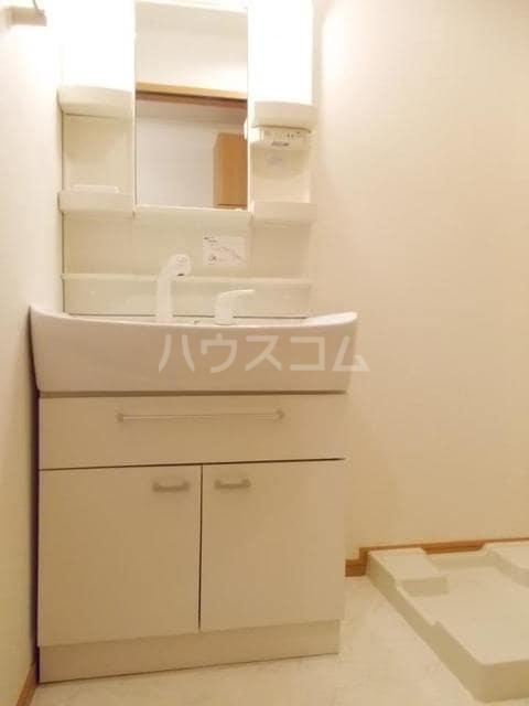 プランドールB 01020号室の洗面所