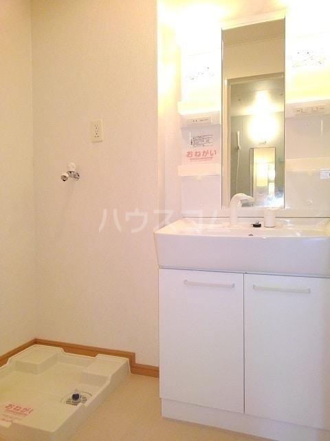 モンターニュ ドゥ 01030号室の洗面所