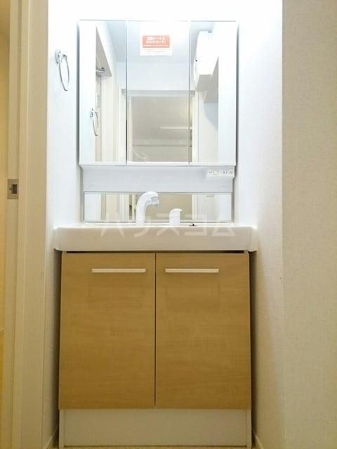 シャトンノアール 01020号室の洗面所