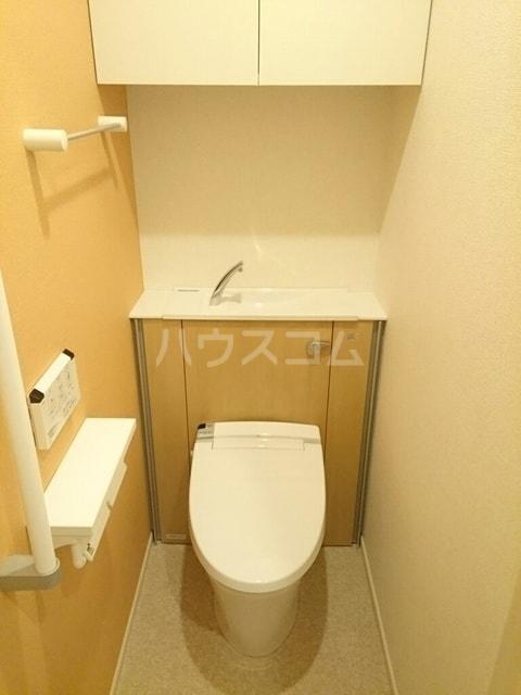 シャトンノアール 01020号室のトイレ