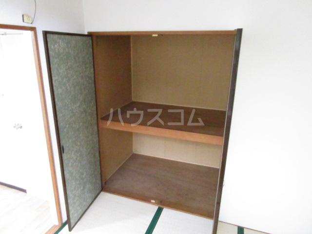 コーポ琥珀 103号室の収納