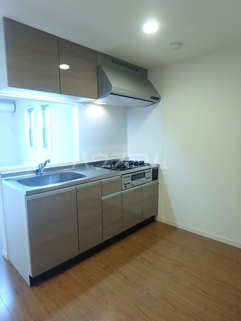 リブリ・アミュレット 201号室のキッチン