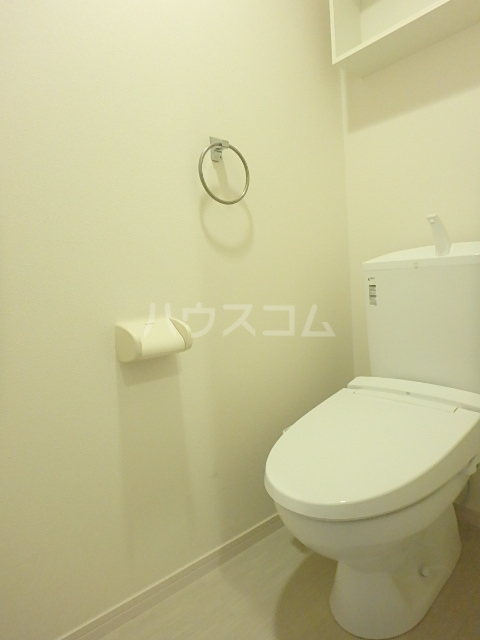 リブリ・アミュレット 201号室のトイレ