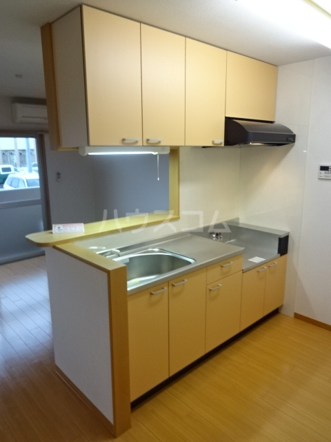 イーリスⅡ 301号室のキッチン