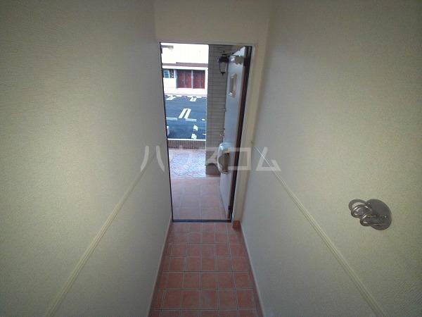 スズランA 01020号室の玄関