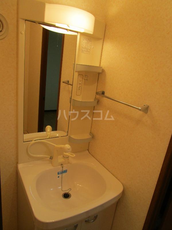 CHELSEA 302号室の洗面所
