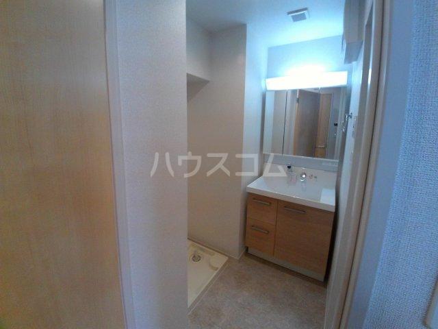 エクセルシオール 01010号室の洗面所