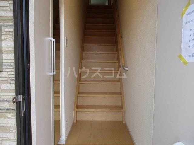 ニューグランシェルⅠ 02020号室の玄関