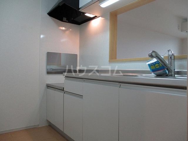 ニューグランシェルⅠ 02020号室のキッチン